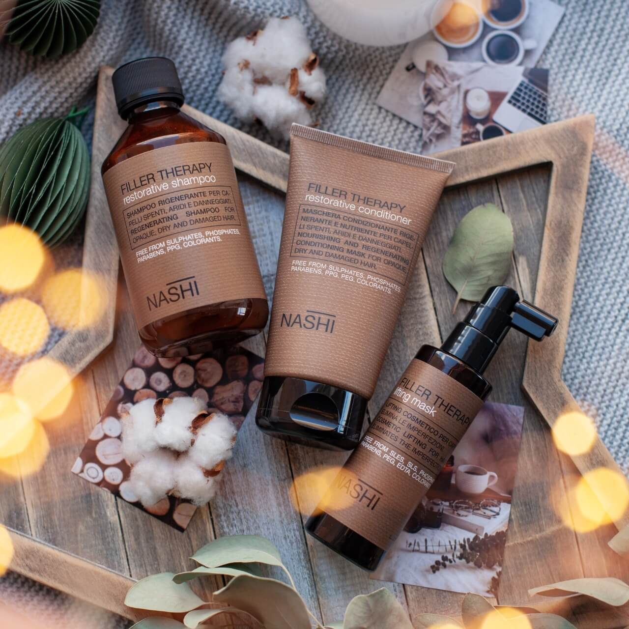 Программа для волос Nashi Filler Therapy